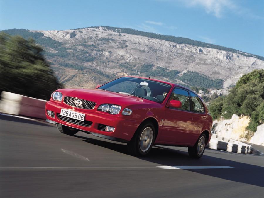 Toyota Corolla хетчбэк, 1997–2002, E110 [рестайлинг] - отзывы, фото и характеристики на Car.ru