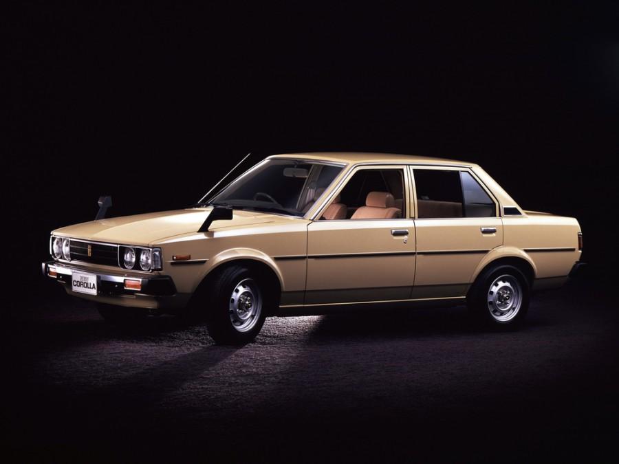 Toyota Corolla JDM седан 4-дв., 1979–1983, E70 - отзывы, фото и характеристики на Car.ru
