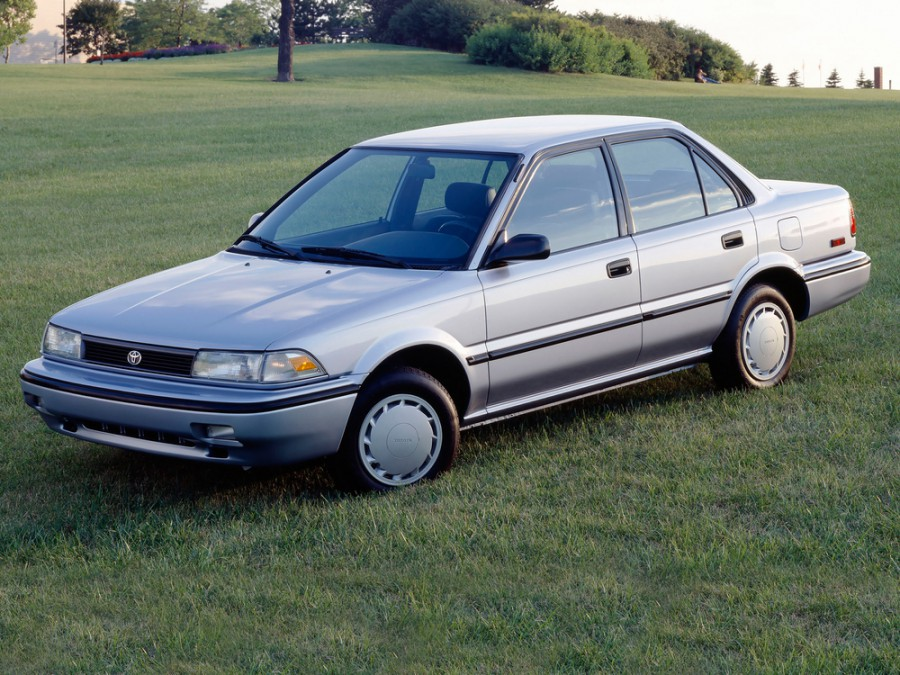 Toyota Corolla седан 4-дв., 1987–1991, E90 - отзывы, фото и характеристики на Car.ru