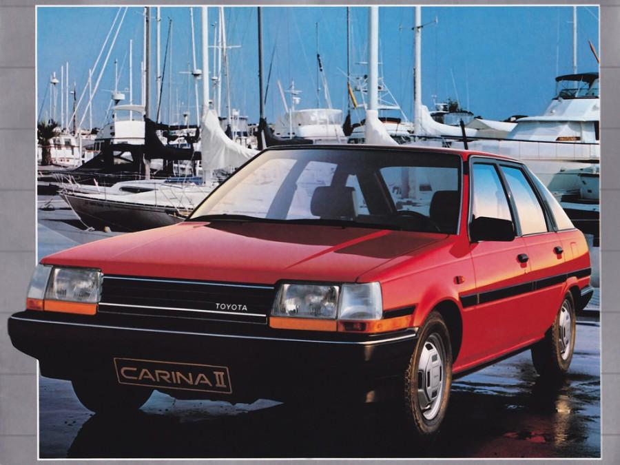 Toyota Carina II лифтбэк, 1984–1986, T150 - отзывы, фото и характеристики на Car.ru