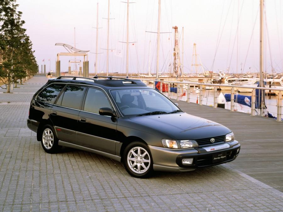 Toyota Corolla JDM универсал, 1993–2000, E100 [рестайлинг] - отзывы, фото и характеристики на Car.ru