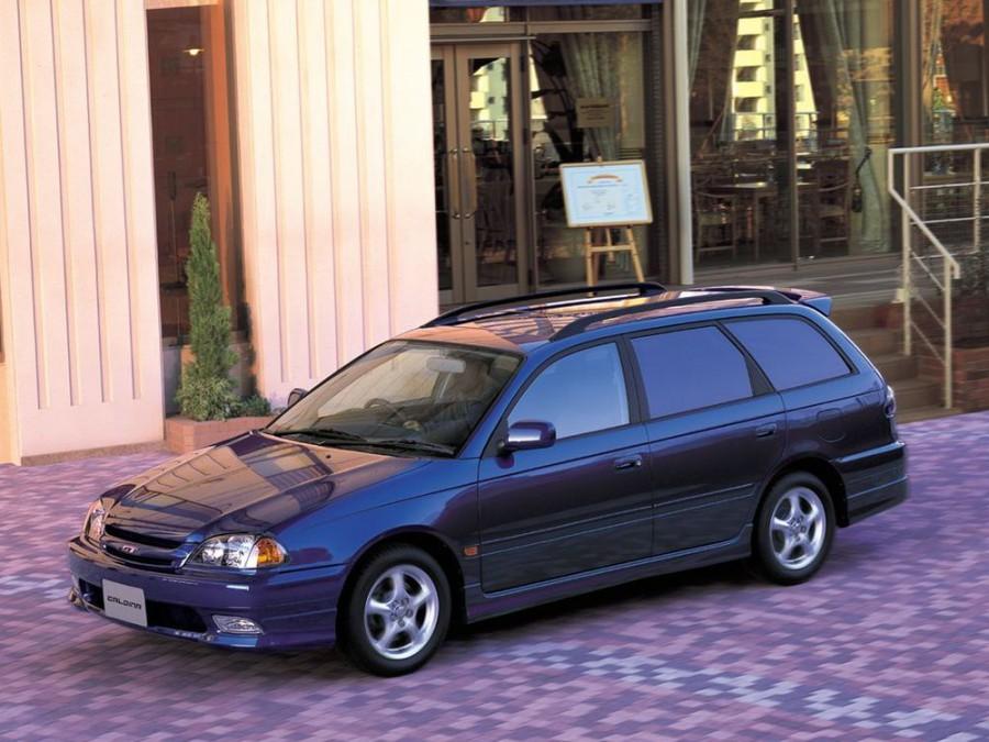 Toyota Caldina универсал, 1997–1999, 2 поколение - отзывы, фото и характеристики на Car.ru
