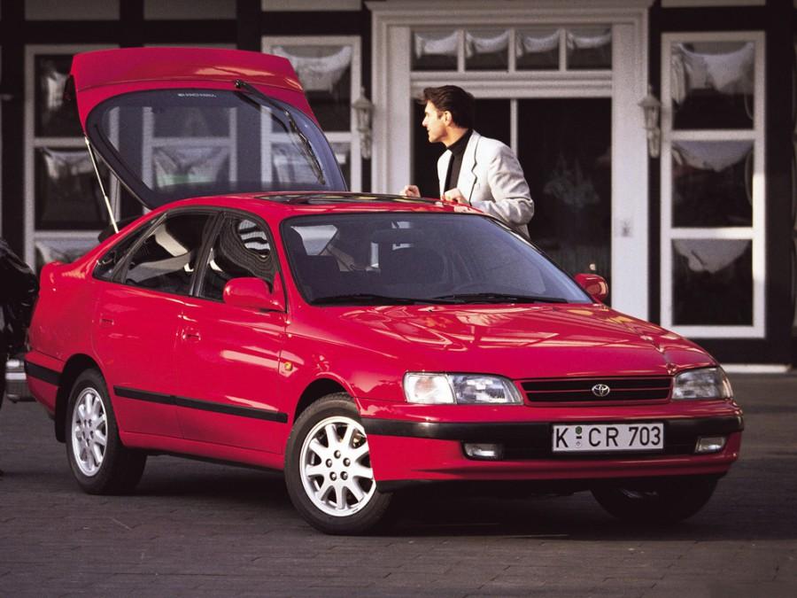 Toyota Carina E лифтбэк, 1992–1998, T190 - отзывы, фото и характеристики на Car.ru