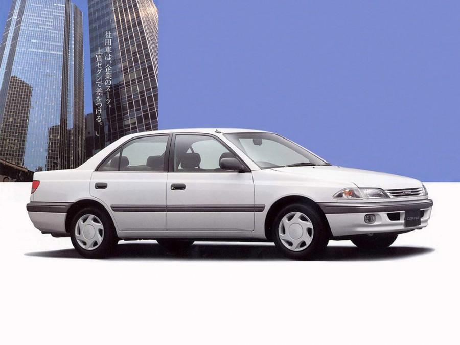 Toyota Carina седан, 1996–2001, T210 - отзывы, фото и характеристики на Car.ru