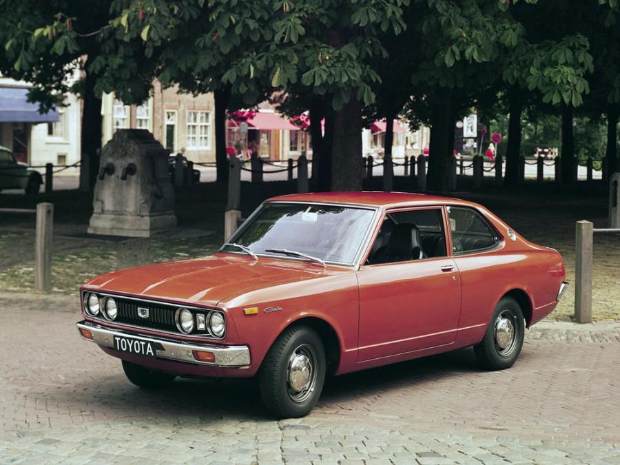 Toyota Carina седан 2-дв., 1972–1974, A10 [рестайлинг] - отзывы, фото и характеристики на Car.ru