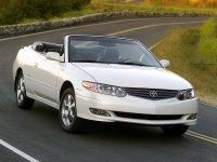 Toyota Solara, XV20 [рестайлинг], Кабриолет, 2002–2004