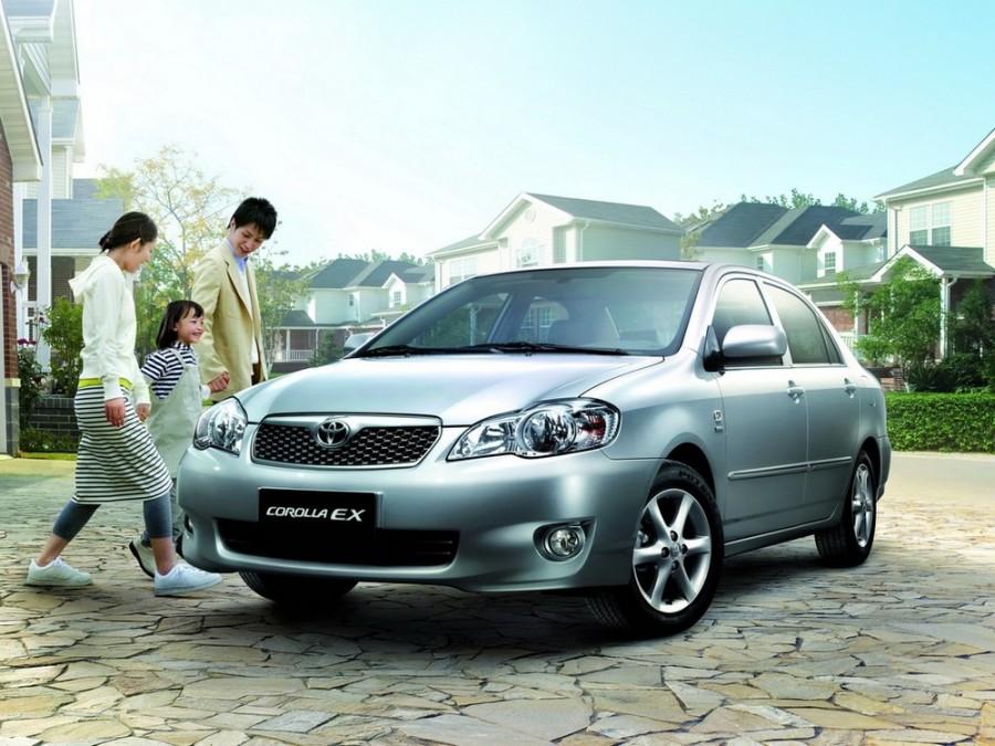 Toyota Corolla CN-spec. седан 4-дв., 2004–2007, E130 [рестайлинг] - отзывы, фото и характеристики на Car.ru