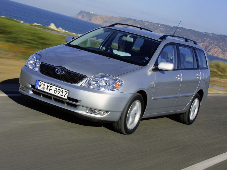 Toyota Corolla универсал, 2004–2007, E130 [рестайлинг] - отзывы, фото и характеристики на Car.ru