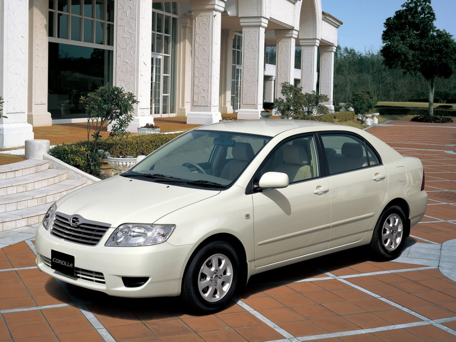 Toyota Corolla JDM седан 4-дв., 2004–2007, E130 [рестайлинг] - отзывы, фото и характеристики на Car.ru
