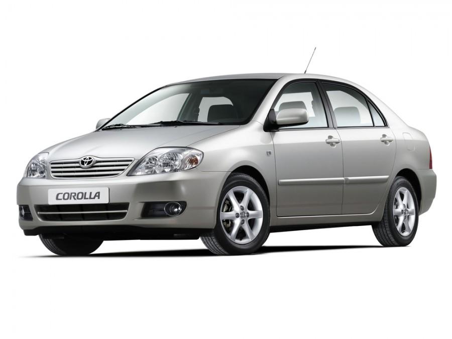 Toyota Corolla седан 4-дв., 2004–2007, E130 [рестайлинг] - отзывы, фото и характеристики на Car.ru