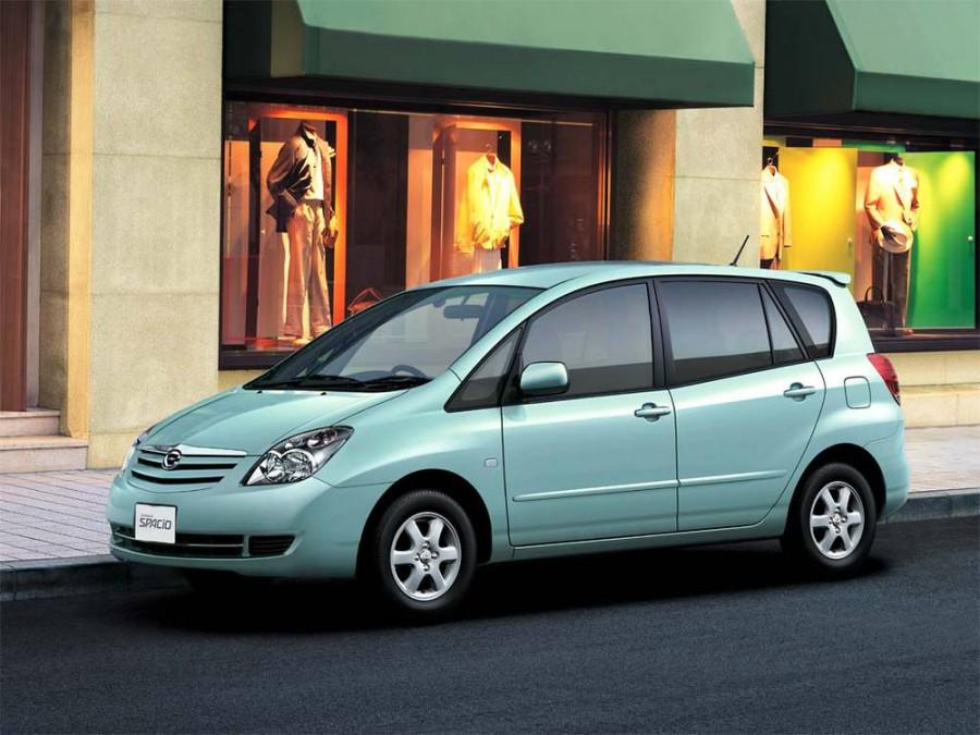 Toyota Corolla Spacio минивэн, 2003–2007, 2 поколение [рестайлинг] - отзывы, фото и характеристики на Car.ru