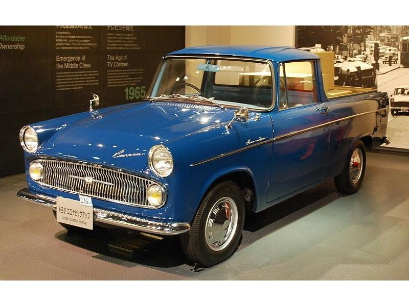 Toyota Corona пикап, 1960–1964, T20 - отзывы, фото и характеристики на Car.ru