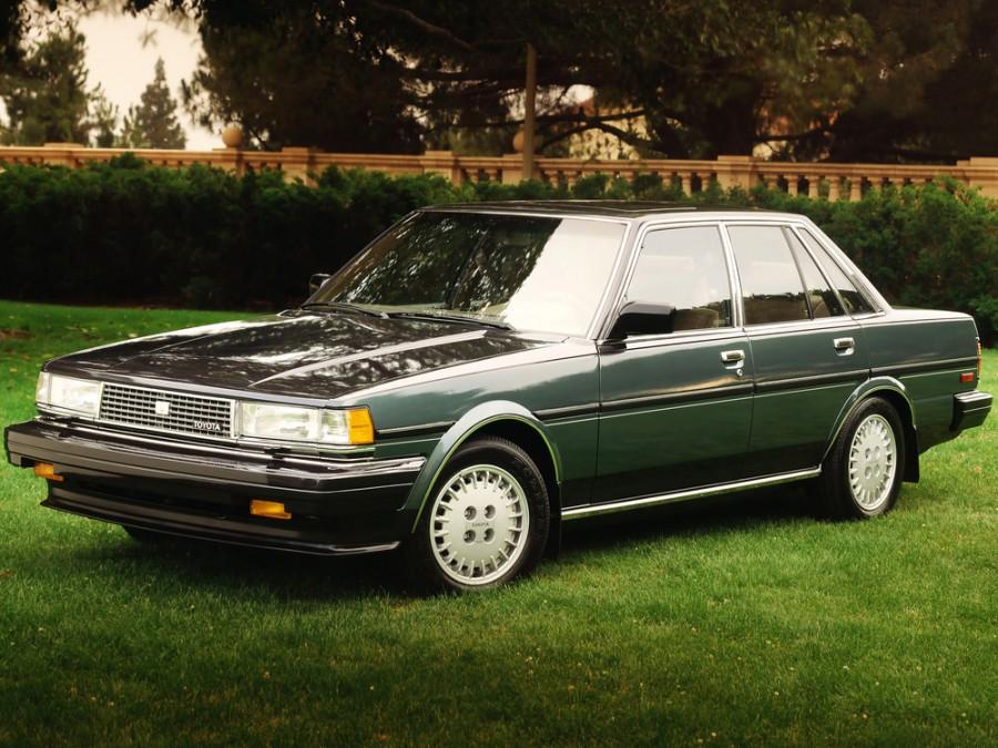 Toyota Cressida седан, 1984–1988, X70 - отзывы, фото и характеристики на Car.ru