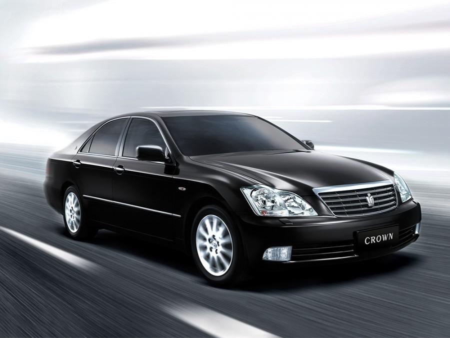 Toyota Crown седан, 2003–2005, S180 - отзывы, фото и характеристики на Car.ru