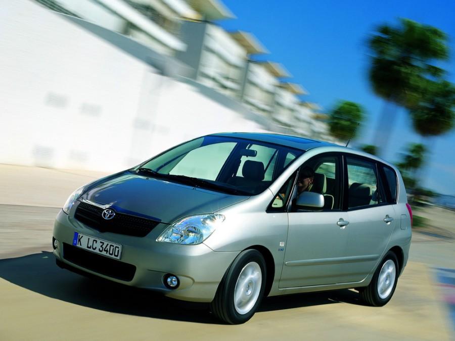 Toyota Corolla Verso Verso минивэн, 2001–2006, 2 поколение - отзывы, фото и характеристики на Car.ru