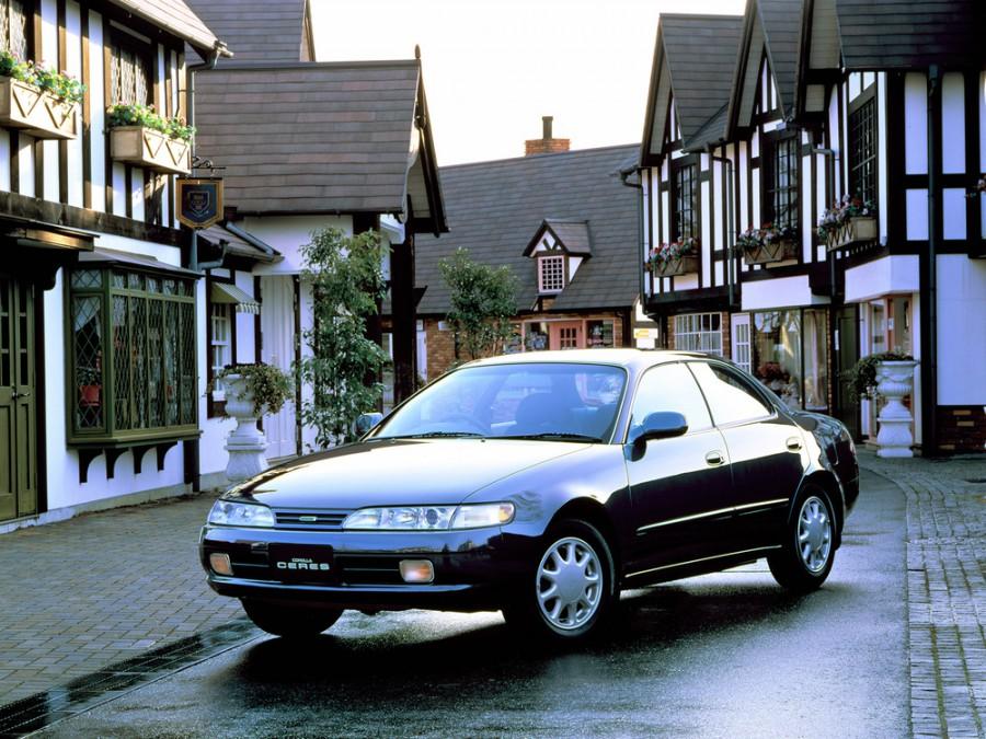 Toyota Corolla Ceres хардтоп, 1994–1999, E100 [рестайлинг] - отзывы, фото и характеристики на Car.ru