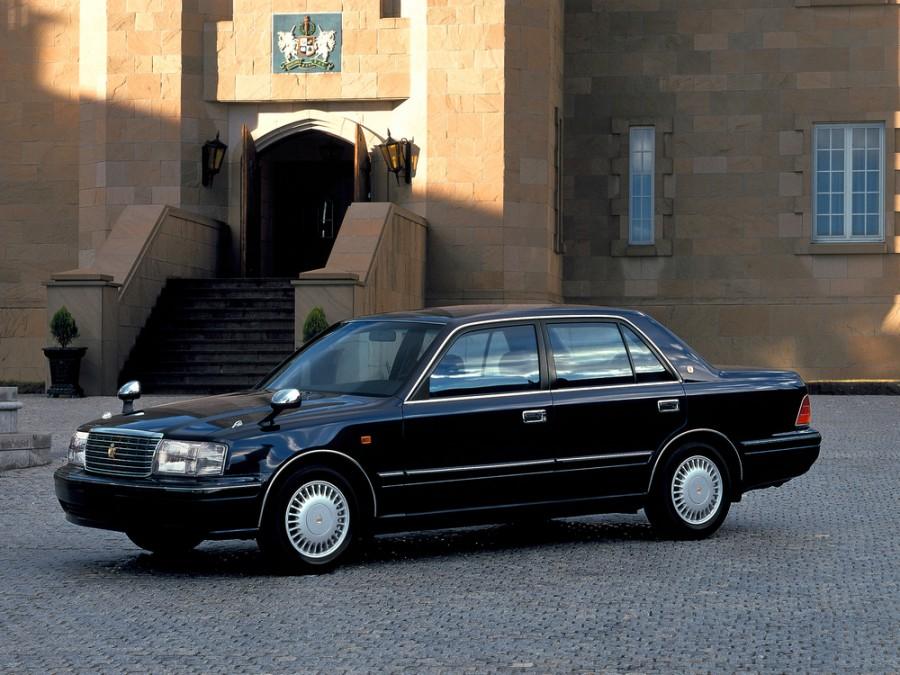 Toyota Crown седан, 1997–2001, S150 [рестайлинг] - отзывы, фото и характеристики на Car.ru