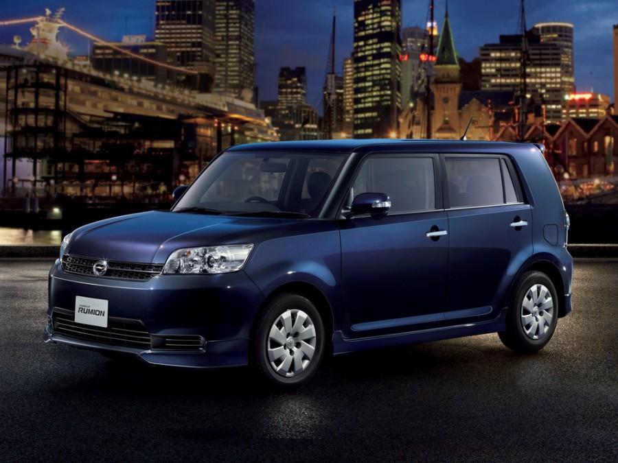 Toyota Corolla Rumion минивэн, 2009–2016, E150N [рестайлинг] - отзывы, фото и характеристики на Car.ru