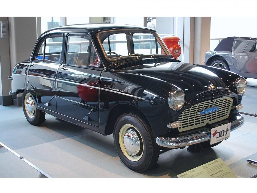 Toyota Corona седан, 1957–1960, T10 - отзывы, фото и характеристики на Car.ru