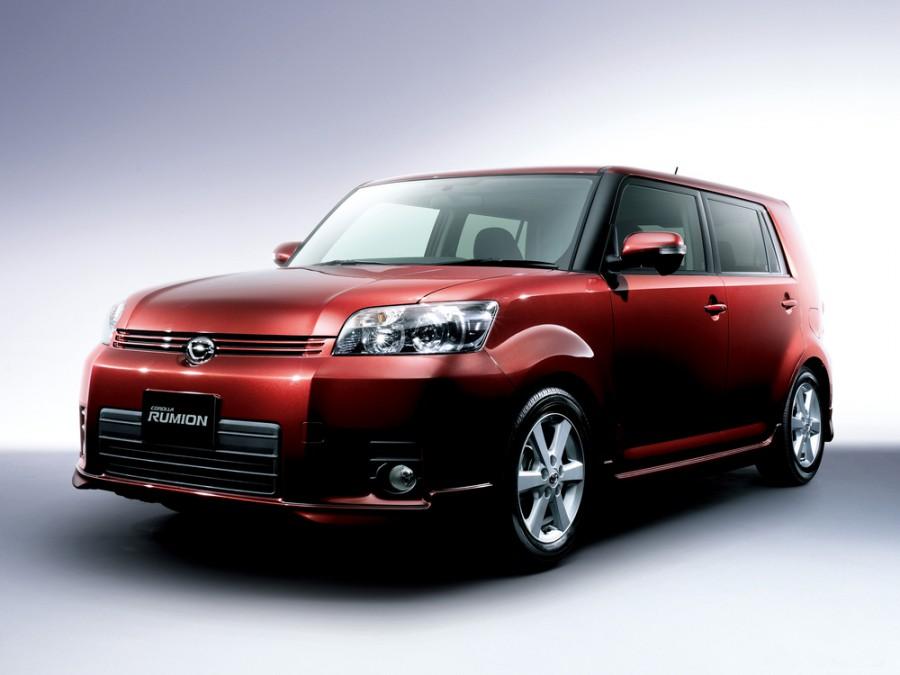 Toyota Corolla Rumion минивэн, 2007–2009, E150N - отзывы, фото и характеристики на Car.ru