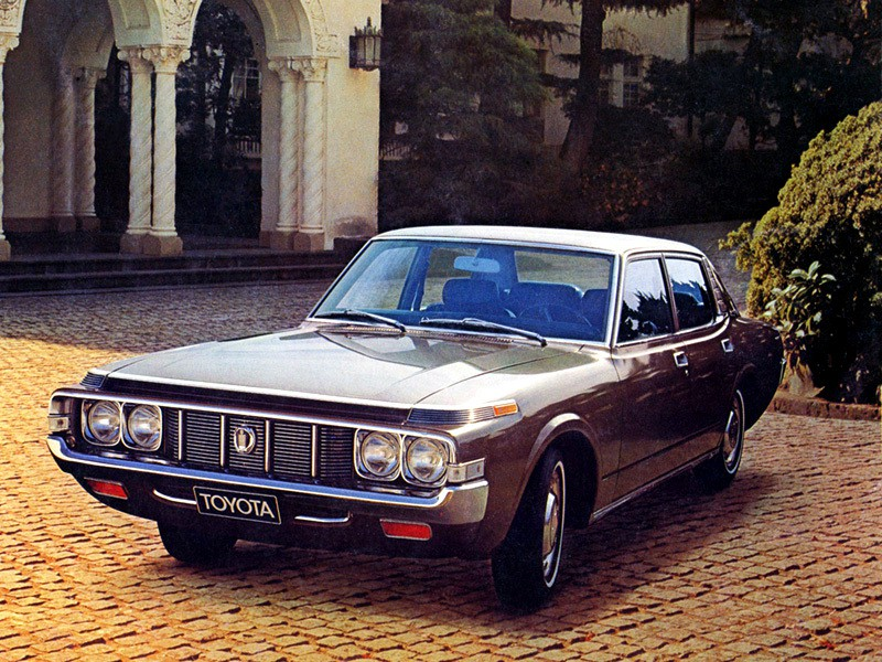 Toyota Crown седан, 1973–1974, S70 [рестайлинг] - отзывы, фото и характеристики на Car.ru
