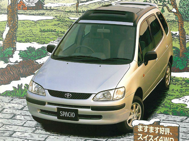 Toyota Corolla Verso Spacio минивэн, 1997–2001, 1 поколение - отзывы, фото и характеристики на Car.ru
