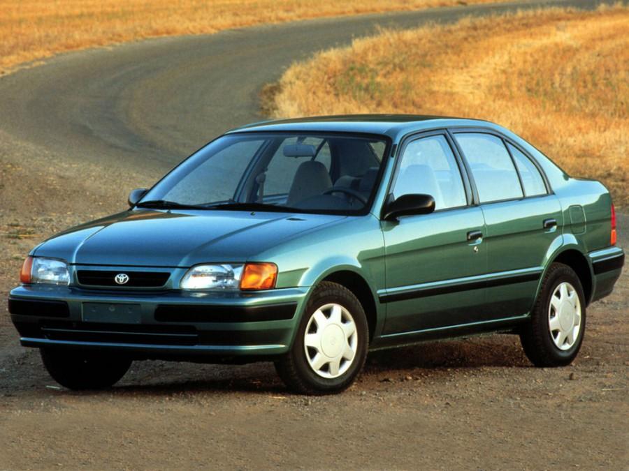 Toyota Corsa седан, 1994–1999, 5 поколение - отзывы, фото и характеристики на Car.ru