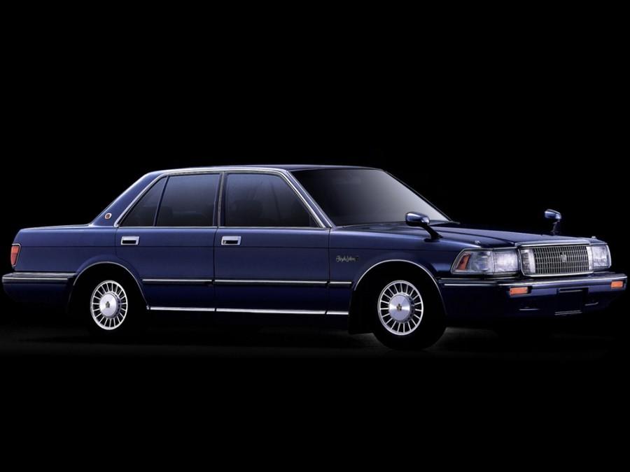 Toyota Crown седан, 1987–1991, S130 - отзывы, фото и характеристики на Car.ru