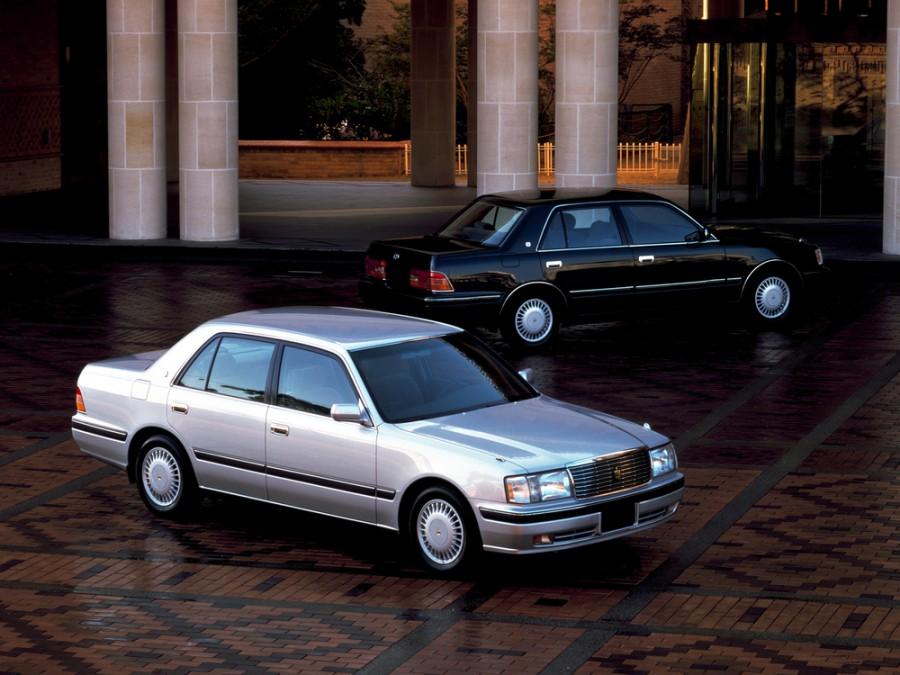 Toyota Crown седан, 1995–1997, S150 - отзывы, фото и характеристики на Car.ru