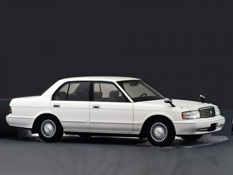 Toyota Crown седан, 1991–1999, S130 [рестайлинг] - отзывы, фото и характеристики на Car.ru