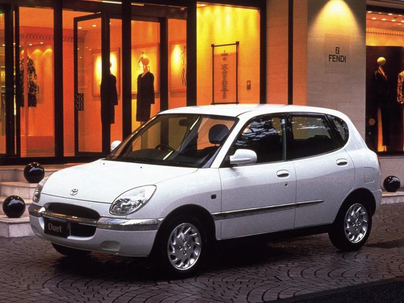 Toyota Duet хетчбэк, 1998–2001, 1 поколение - отзывы, фото и характеристики на Car.ru