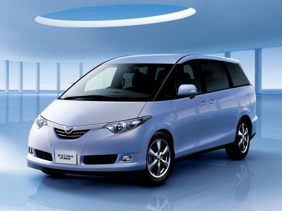 Toyota Estima Hybrid минивэн 5-дв., 2006–2016, 3 поколение - отзывы, фото и характеристики на Car.ru