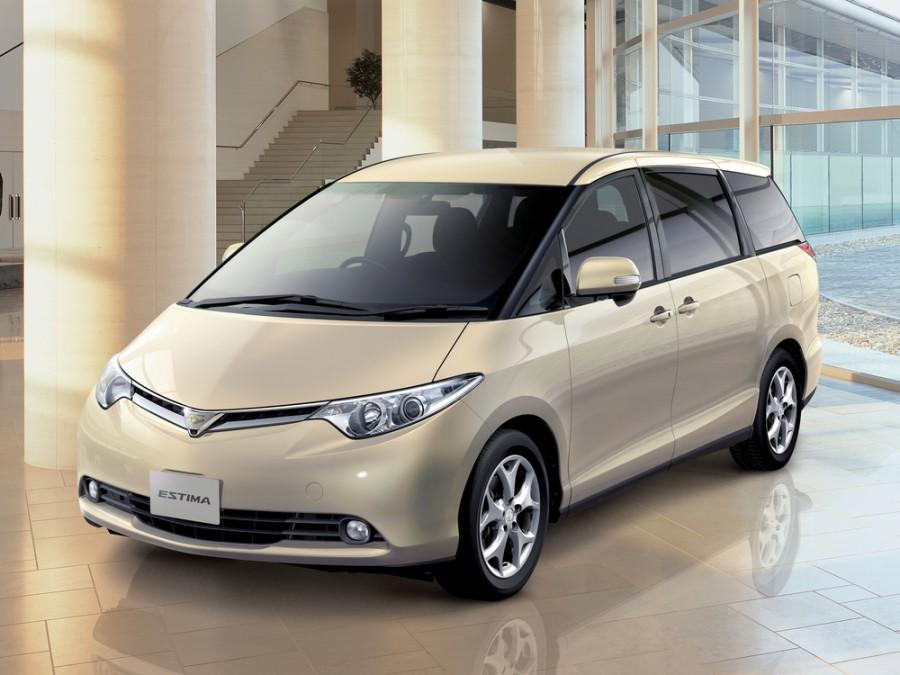 Toyota Estima минивэн 5-дв., 2006–2016, 3 поколение - отзывы, фото и характеристики на Car.ru