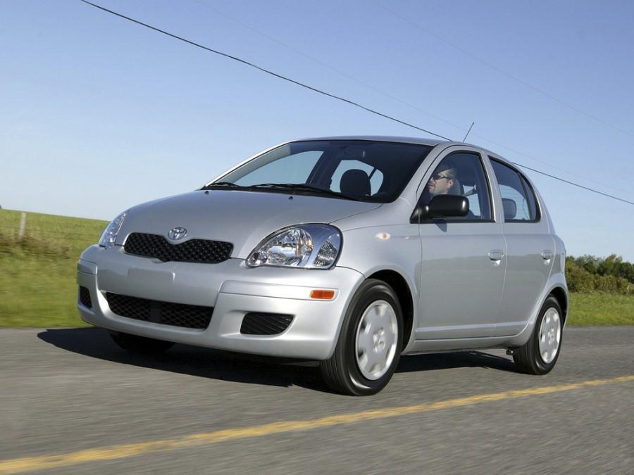 Toyota Echo хетчбэк 5-дв., 2003–2005, 1 поколение [рестайлинг] - отзывы, фото и характеристики на Car.ru