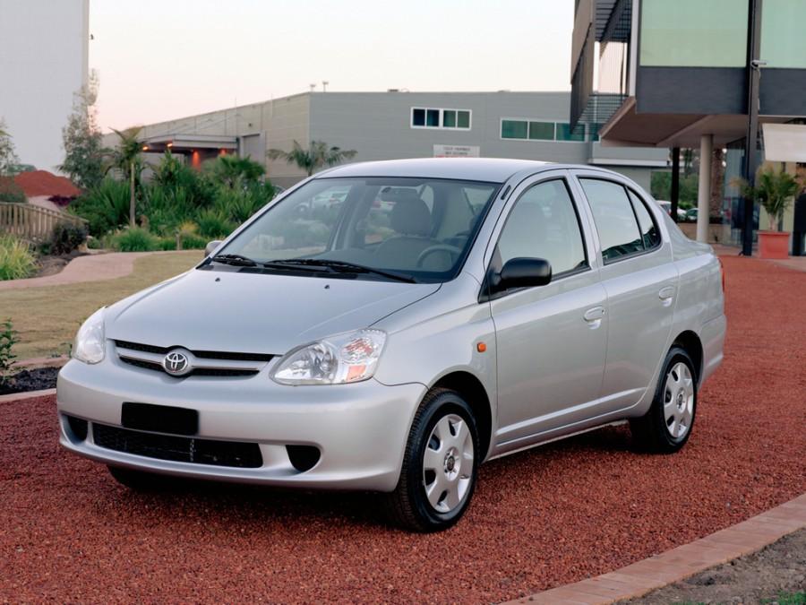 Toyota Echo седан, 2003–2005, 1 поколение [рестайлинг] - отзывы, фото и характеристики на Car.ru