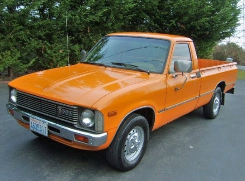 Toyota Hilux пикап 2-дв., 1978–1983, 3 поколение - отзывы, фото и характеристики на Car.ru
