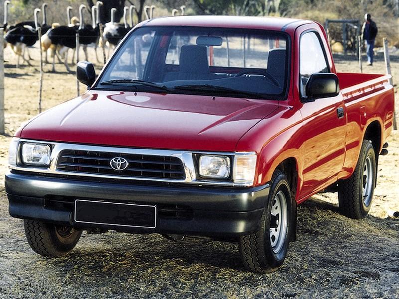 Toyota Hilux пикап 2-дв., 1997–2001, 6 поколение - отзывы, фото и характеристики на Car.ru
