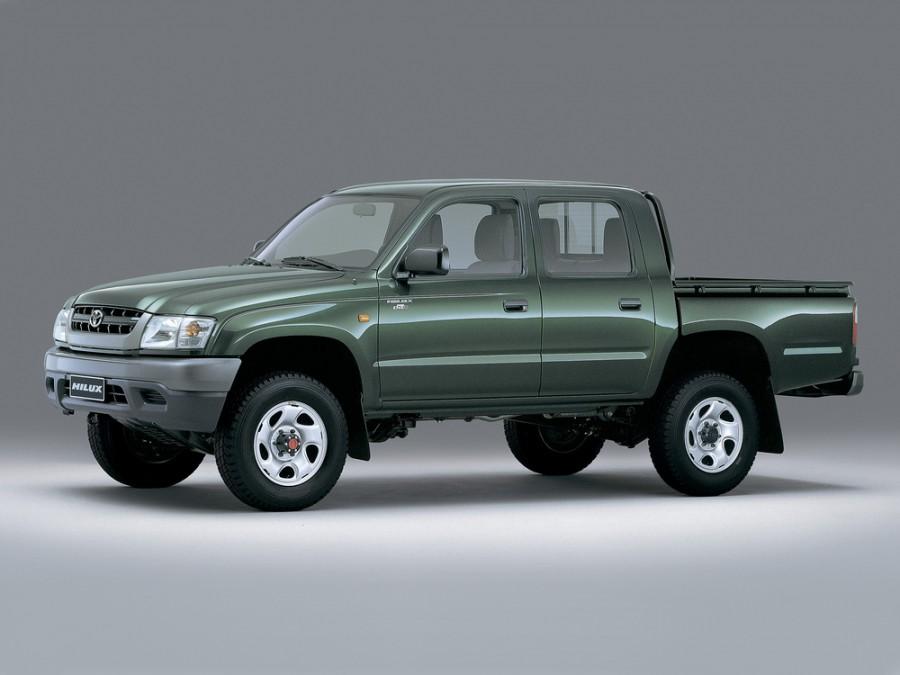 Toyota Hilux пикап 4-дв., 2001–2004, 6 поколение [рестайлинг] - отзывы, фото и характеристики на Car.ru