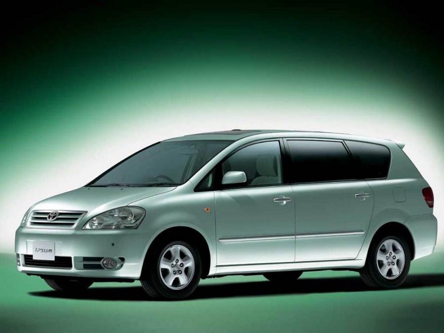 Toyota Ipsum минивэн, 2001–2003, 2 поколение - отзывы, фото и характеристики на Car.ru