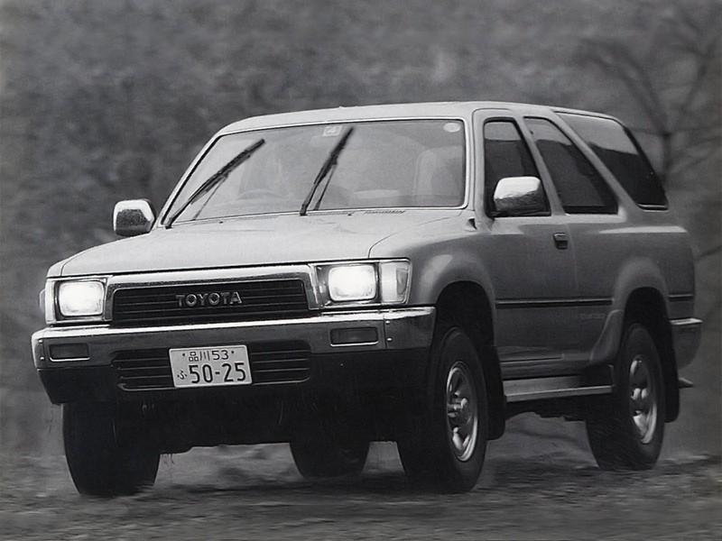 Toyota Hilux Surf внедорожник 3-дв., 1989–1992, 2 поколение - отзывы, фото и характеристики на Car.ru