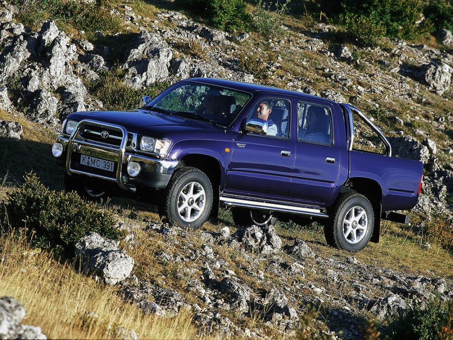 Toyota Hilux пикап 4-дв., 1997–2001, 6 поколение - отзывы, фото и характеристики на Car.ru