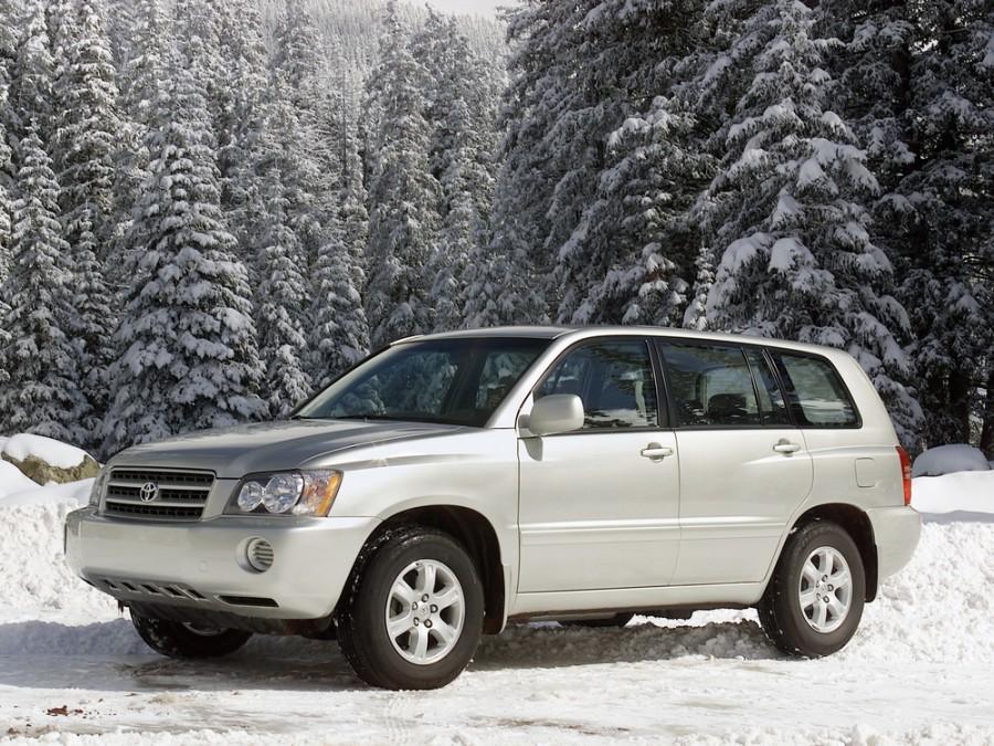 Toyota Highlander кроссовер, 2001–2003, 1 поколение - отзывы, фото и характеристики на Car.ru