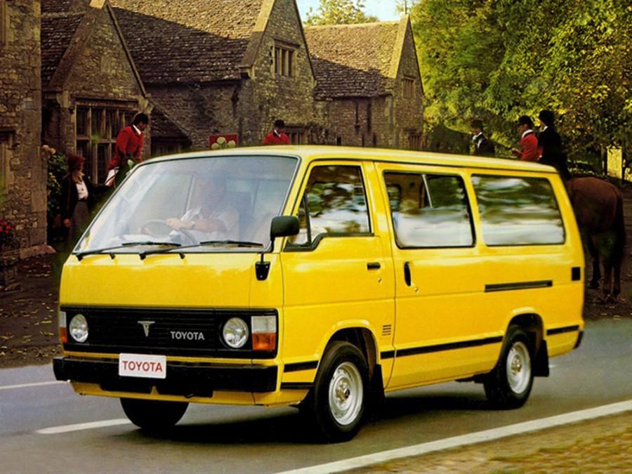 Toyota Hiace микроавтобус, 1982–1989, H50 - отзывы, фото и характеристики на Car.ru