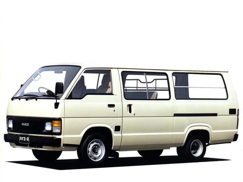 Toyota Hiace Combi микроавтобус 4-дв., 1982–1989, H50 - отзывы, фото и характеристики на Car.ru