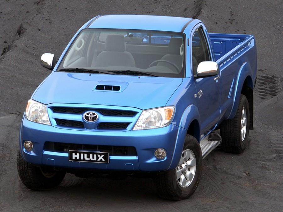 Toyota Hilux пикап 2-дв., 2005–2008, 7 поколение - отзывы, фото и характеристики на Car.ru