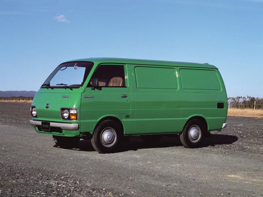 Toyota Hiace фургон, H20/H30/H40 - отзывы, фото и характеристики на Car.ru