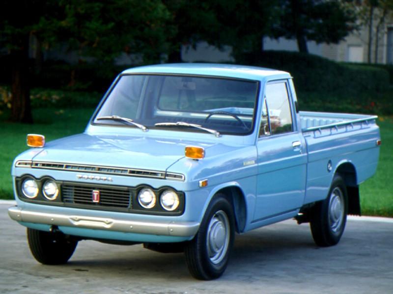 Toyota Hilux пикап, 1968–1972, 1 поколение - отзывы, фото и характеристики на Car.ru