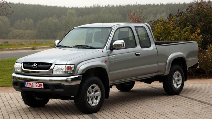 Toyota Hilux Xtracab пикап 2-дв., 2001–2004, 6 поколение [рестайлинг] - отзывы, фото и характеристики на Car.ru