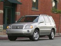 Toyota Highlander, 1 поколение [рестайлинг], Кроссовер, 2004–2007