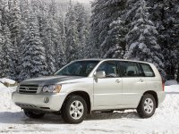 Toyota Highlander, 1 поколение, Кроссовер, 2001–2003